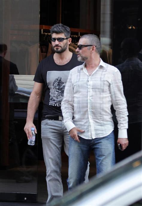 george michael s lover fadi fawaz cleared over singer s george michael secretly close with love of his life kenny