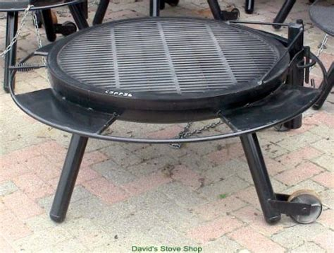 grill top for pit 36 quot outdoor pit with grill top made in