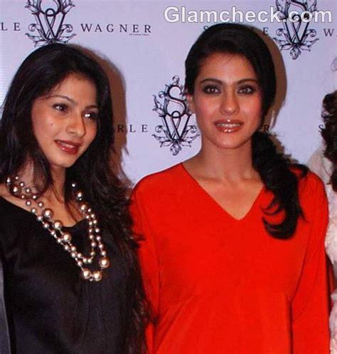 Shejab Sherle Plain Dress kajol tanisha at the launch of sherle wagner store