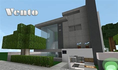 high tech house vento high tech modern house minecraft project