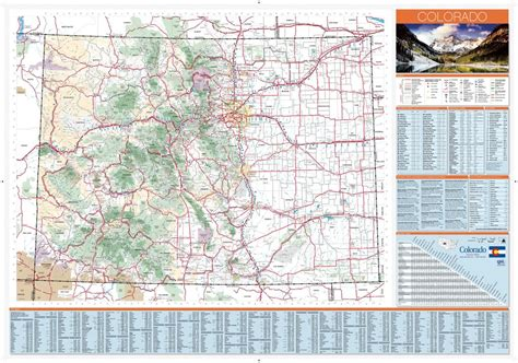 colorado state road map colorado state highway map maplets