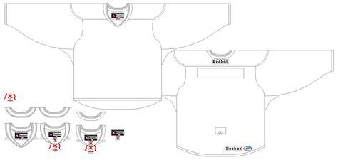hockey jersey template hockey jersey template clipart best