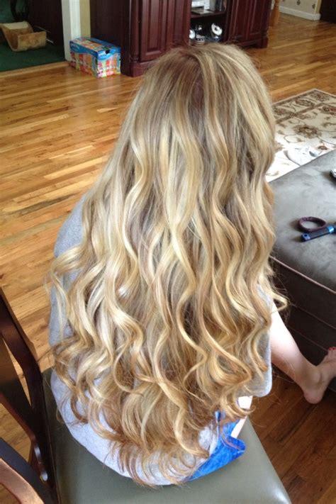 pin  erin carroll  hair beauty curls  long hair
