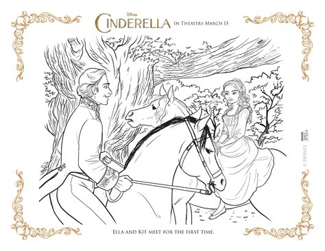coloring pages of cinderella 2015 cinderella coloring pages highlights along the way