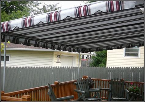 Awnings For Patios And Decks by Aluminum Awnings For Decks Decks Home Decorating Ideas