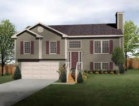 Split Level Style House by Split Level House Plan Exterior Colors Diy Home