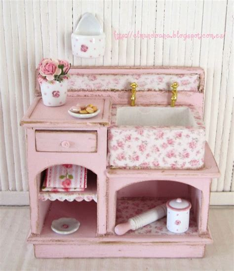 shabby chic furniture scale 1 12