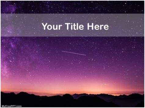 powerpoint themes astronomy free powerpoint templates myfreeppt