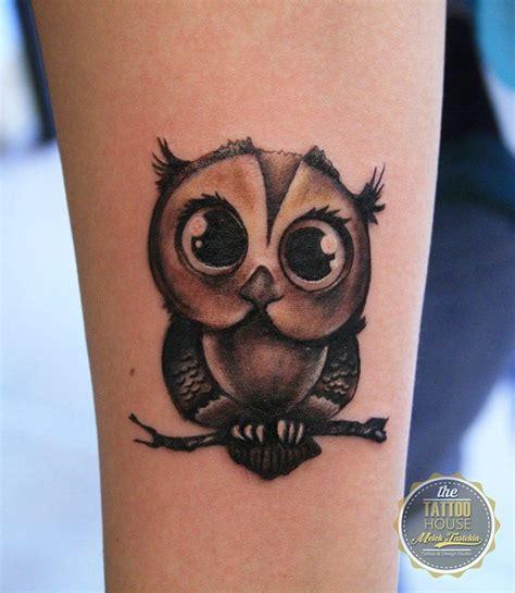 matching owl tattoos owl by melek taştekin owl owltattoo