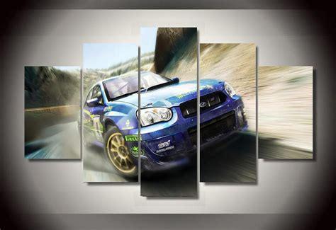 panels subaru sports car group artwork multi canvas art