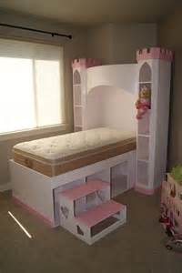 castle bed princess castle bookshelf headboard