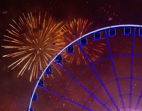 new year hong kong 2015 fireworks explode the harbor as celebrating