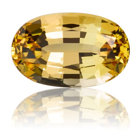 brazil golden topaz oval 10 21ct king gems