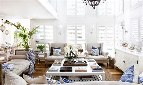 Decorating Ideas For Open Living Room And Kitchen French Provincial Style Hamptons Style