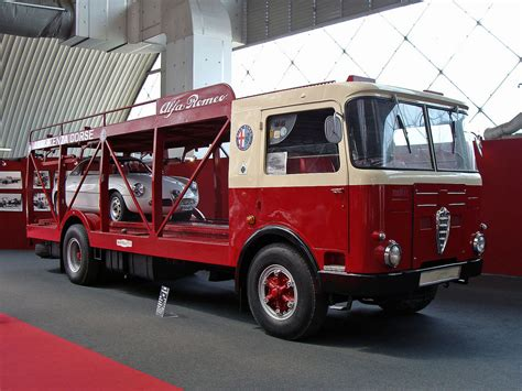 alfa romeo mille car transporter special vehicles