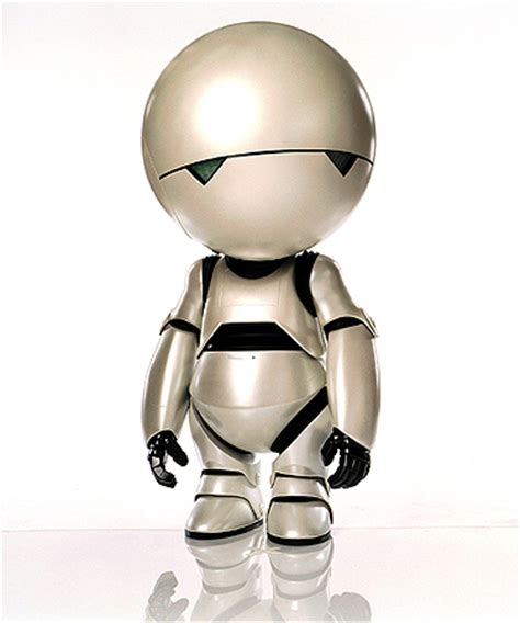 paranoid android marvin the depressed robot quotes quotesgram