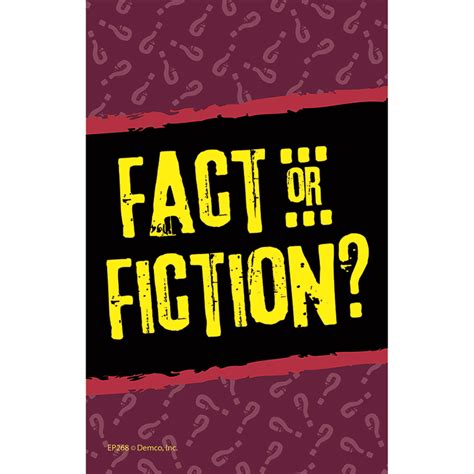 the fact or fiction fact or fiction game grades 3 and up by edupress ep268 critical thinking books and games
