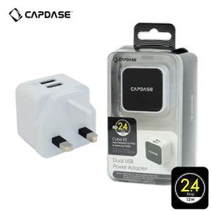 Capdase Car Charger Adaptor 2 Usb Revo K2 2 4a Grey capdase dual usb power adapter cube k2 2 4s white reviews comments