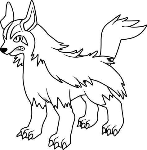 pokemon coloring pages poochyena pokemon coloring pages 30 coloring pages for kids