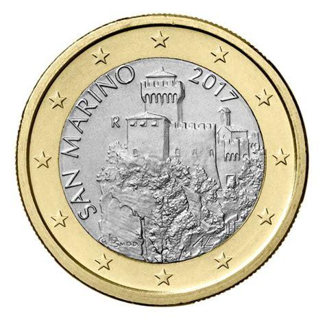 ufficio della circolazione san marino circolazione monete millesimo 2017 in