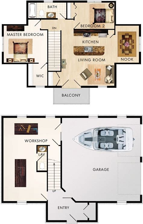 garage floor plans with apartments best 25 garage apartment plans ideas on