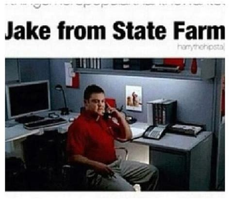 Jake State Farm Meme - pinterest the world s catalog of ideas