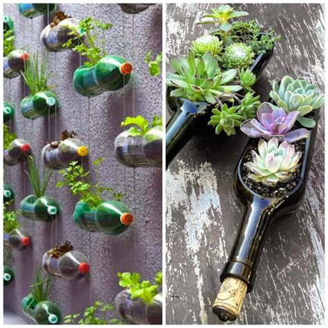 Garden Decoration Items by Diy 40 Ideas For Gardening With Recycled Items Designrulz