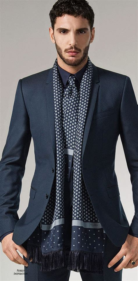 global suit trends the linen scarf suitup55