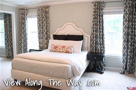 how to hang bedroom curtains how to sew tab back curtains guest tutorial little