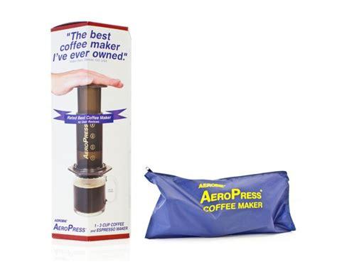 Aeropress Coffee Maker Plus Tote Bag With 350 Filters buy aeropress tote bag from tkc sales ltd