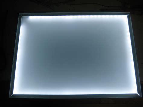 glasplatte beleuchten bauanleitung f 252 r einen leuchttisch mit leds