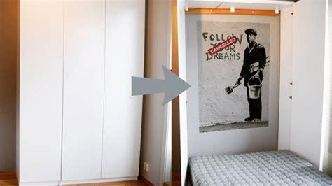 fold away bed ikea turn ikea cabinets into a fold away bed lifehacker uk