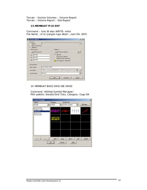 tutorial autocad land development tutorial auto cad land dev 2i