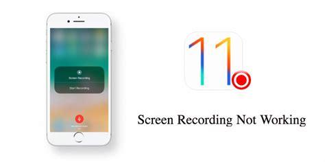 fix ios  screen recording  working  iphone ipad