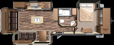 Heartland Fifth Wheel Floor Plans 2016 Highland Ridge Mesa Ridge 323rls Triple Slide Rear