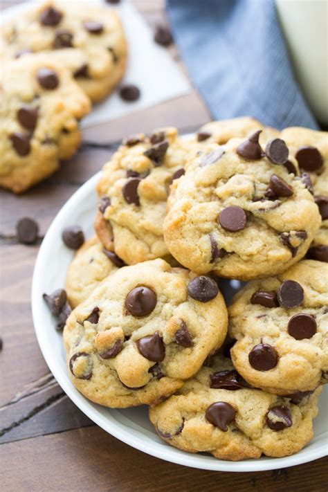 azie kitchen chocolate chips cookies our favorite soft and chewy chocolate chip cookies