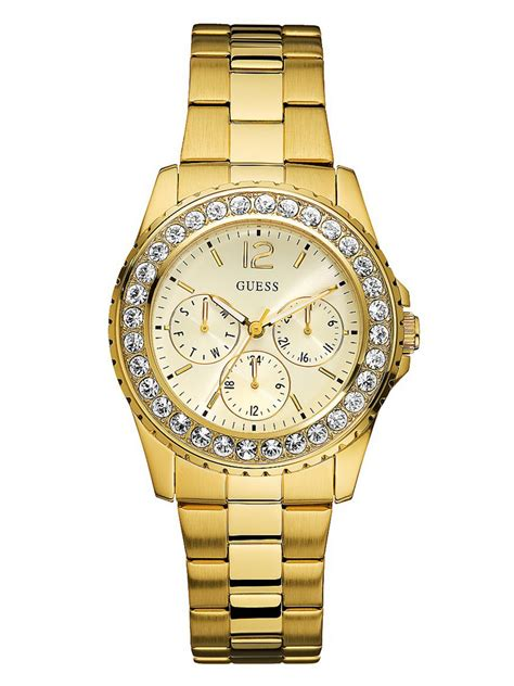 Guess Watches Ori 7 guess women s chilly gold tone ebay