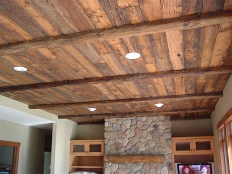 Ceiling Woodwork by Reclaimed Wood Ceiling Reclaimed Wood Ceiling