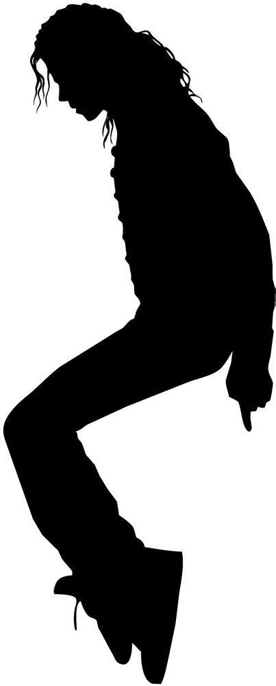 Michael Jackson Silhouette Car Decal Window Sticker Window Decal Template