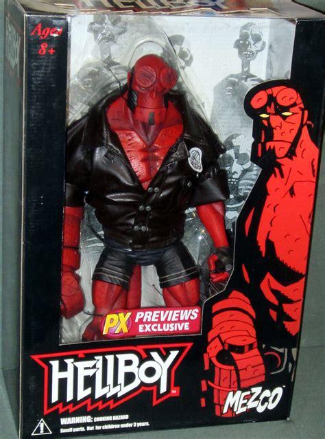 Hellboy 18 Inch Mezco hellboy figure 18 inch previews exclusive comic series