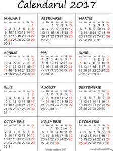 Calendar 2018 Limba Romana Imprimare Calendar Pentru 2017 Fișierele Pdf Gratuite