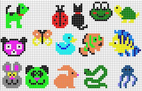 perler bead animal patterns figuras de hama que me gustan on perler