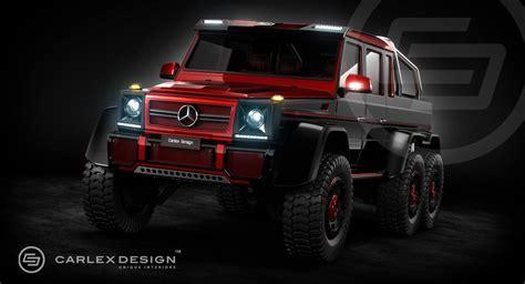 mercedes g class 6x6 interior mercedes g63 amg 6x6 rendering by carlex design