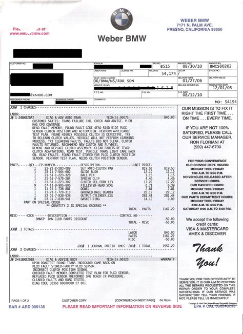 create invoice template bmw dealer invoice invoice template ideas