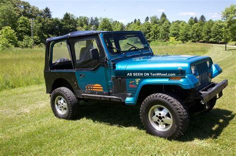 jeep islander yj 1992 jeep wrangler islander edition turner