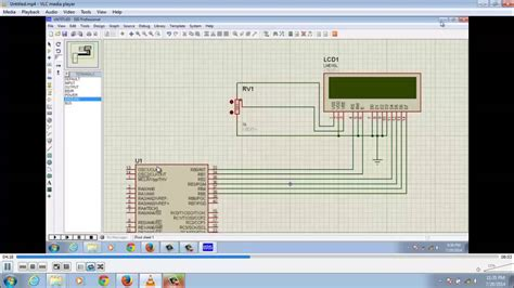 Lcd Ad Max U lcd interface with pic microcontroller using mikro c pro and proteus