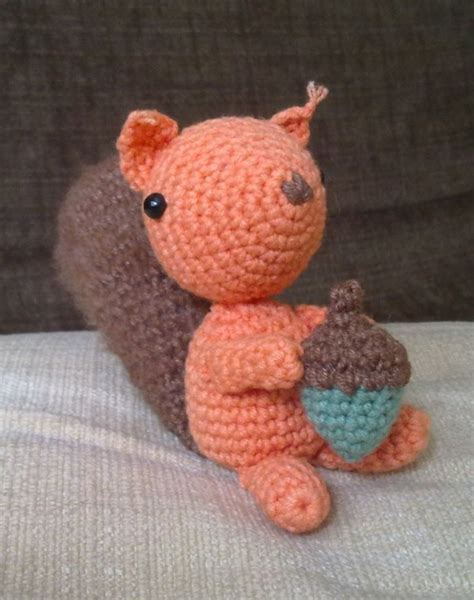 knit and crochet for fall acorns and squirrels free crochet squirrels free patterns grandmother s pattern book