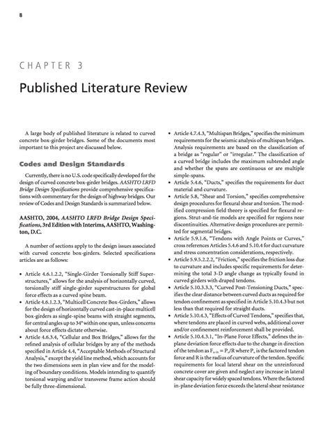 sections of a literature review chapter 3 published literature review development of