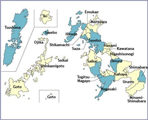 nagasaki map opinions on nagasaki prefecture