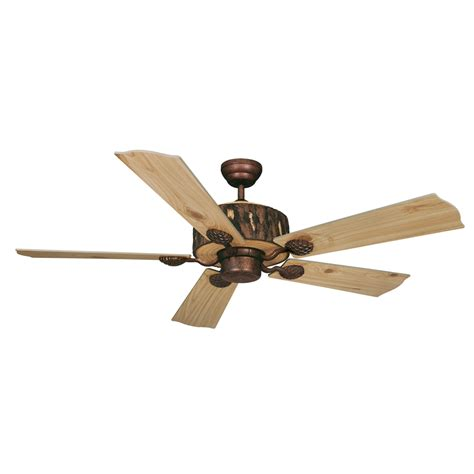 log cabin ceiling fan